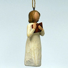 Willow Angel - Ornament - Love of Learning | Hallmark Awesome Gifts