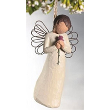 Willow Angel - Ornament - Loving Angel | Hallmark Awesome Gifts