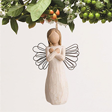 Willow Angel - Ornament - Sign for Love | Hallmark Awesome Gifts