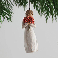 Willow Angel - Ornament - Surrounded by Love | Hallmark Awesome Gifts