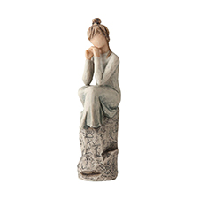 Willow Angel Figurine - Frienship - Patience | Hallmark Awesome Gifts