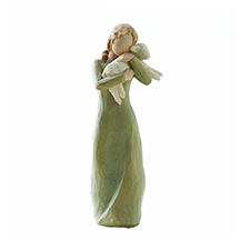 Willow Angel Figurine - Holiday - Peace on Earth | Hallmark Awesome Gifts