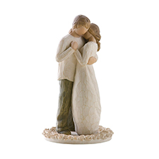 Willow Angel Figurine - Love/Milestones - Promise Cake Topper | Hallmark Awesome Gifts