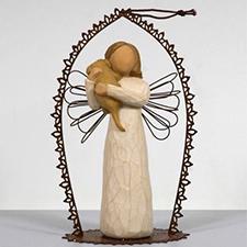 Willow Angel Figurine - Love/Milestones - Promise Musical | Hallmark Awesome Gifts