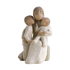 Willow Angel Figurine - Family - Quietly | Hallmark Awesome Gifts