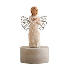 Willow Angel Figurine - Sympathy/Remembrance - Remembrance - Musical | Hallmark Awesome Gifts
