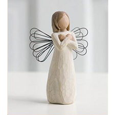 Willow Angel Figurine - Love/Milestones - Sign for Love | Hallmark Awesome Gifts