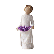 Willow Angel Figurine - Frienship - Simple Joys | Hallmark Awesome Gifts