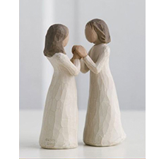 Willow Angel Figurine - Family - Sisters | Hallmark Awesome Gifts