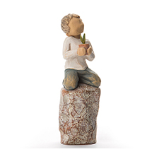 Willow Angel Figurine - Family - Something Special | Hallmark Awesome Gifts
