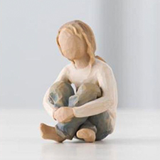 Willow Angel Figurine - Family - Spirited Child | Hallmark Awesome Gifts