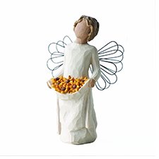 Willow Angel Figurine - Frienship - Sunshine | Hallmark Awesome Gifts
