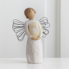 Willow Angel Figurine - Love/Milestones - Sweetheart | Hallmark Awesome Gifts