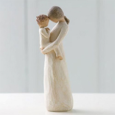 Willow Angel Figurine - Family - Tenderness | Hallmark Awesome Gifts