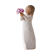 Willow Angel Figurine - Thank You/Hospitality - Thank You | Hallmark Awesome Gifts