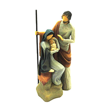 Willow Angel Figurine - Holiday - The Holy Family | Hallmark Awesome Gifts