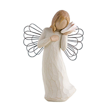 Willow Angel Figurine - Sympathy/Remembrance - Thinking of You | Hallmark Awesome Gifts