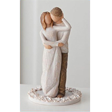 Willow Angel Figurine - Love/Milestones - Together Cake Topper | Hallmark Awesome Gifts