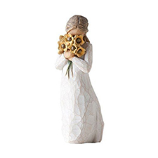 Willow Angel Figurine - Frienship - Warm Embrace | Hallmark Awesome Gifts