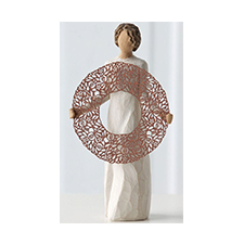 Willow Angel Figurine - Thank You/Hospitality - Welcome Here | Hallmark Awesome Gifts