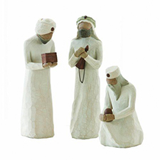 Willow Angel Figurine - Holiday - Wisemen - 3 pieces | Hallmark Awesome Gifts
