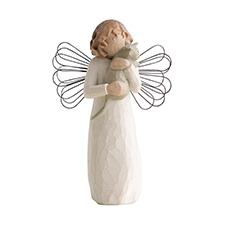 Willow Angel Figurine - Frienship - With Affection | Hallmark Awesome Gifts