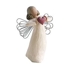 Willow Angel Figurine - Love/Milestones - With Love | Hallmark Awesome Gifts