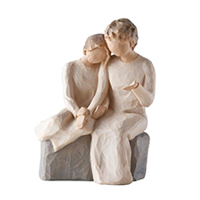 Willow Angel Figurine - Family - With My Grandmother | Hallmark Awesome Gifts