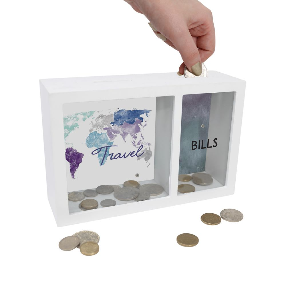 Splosh Banks - Travel and Bills, Hallmark Awesome Gifts