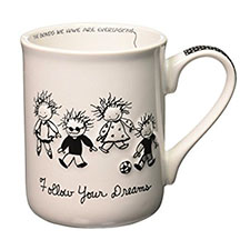 Children of the Inner Light Mugs - Faith & Love - Follow Your Dreams | Hallmark Awesome Gifts