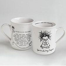 Children of the Inner Light Mugs - Faith & Love - In My Prayers | Hallmark Awesome Gifts