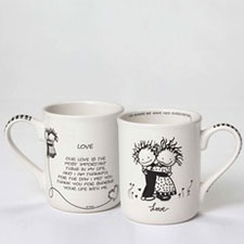 Children of the Inner Light Mugs - Faith & Love - Love | Hallmark Awesome Gifts