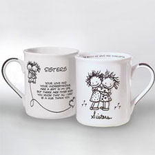 Children of the Inner Light Mugs - Family - Sisters | Hallmark Awesome Gifts