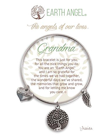 Earth Angel Bracelet - Family - Grandma | Hallmark Awesome Gifts