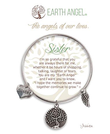Earth Angel Bracelet - Family - Sister | Hallmark Awesome Gifts
