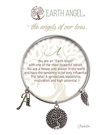 Earth Angel Bracelet - Initial - A | Hallmark Awesome Gifts