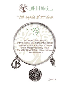 Earth Angel Bracelet - Initial - B | Hallmark Awesome Gifts