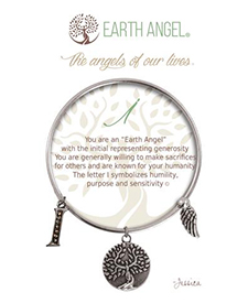 Earth Angel Bracelet - Initial - I | Hallmark Awesome Gifts
