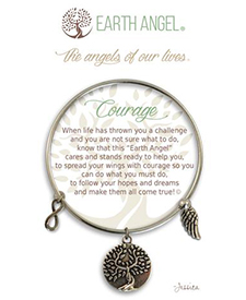 Earth Angel Bracelet - Sentiment - Courage | Hallmark Awesome Gifts
