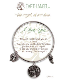 Earth Angel Bracelet - Sentiment - I Love You | Hallmark Awesome Gifts
