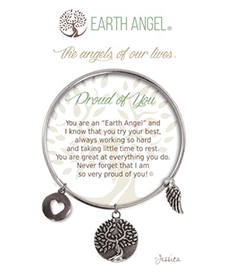 Earth Angel Bracelet - Sentiment - Proud of You | Hallmark Awesome Gifts