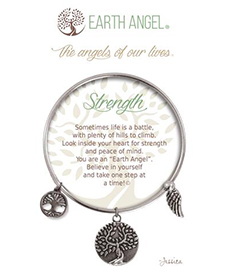 Earth Angel Bracelet - Sentiment - Strength | Hallmark Awesome Gifts