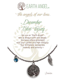 Earth Angel Necklaces - Birth Month/Stone - December | Hallmark Awesome Gifts
