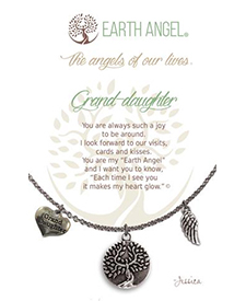 Earth Angel Necklace - Family - Grand-Daughter | Hallmark Awesome Gifts