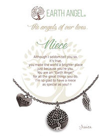 Earth Angel Necklace - Family - Niece | Hallmark Awesome Gifts