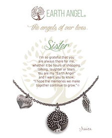 Earth Angel Necklace - Family - Sister | Hallmark Awesome Gifts