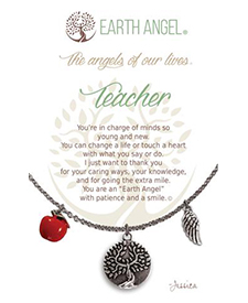 Earth Angel Necklace - Role - Teacher | Hallmark Awesome Gifts