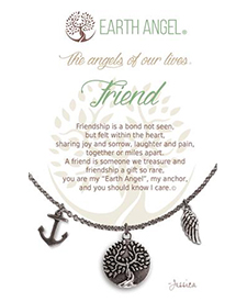 Earth Angel Necklace - Role - Friend | Hallmark Awesome Gifts