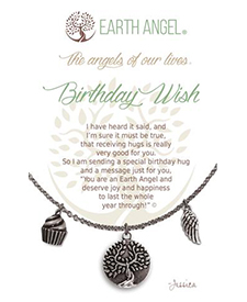 Earth Angel Necklace - Sentiment - Birthday Wish | Hallmark Awesome Gifts
