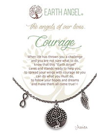 Earth Angel Necklace - Sentiment - Courage | Hallmark Awesome Gifts